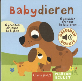 Clavis Geluidenboekje Babydieren