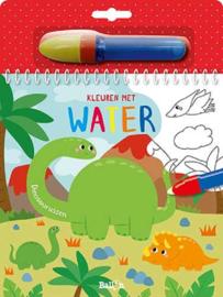 Uitgeverij Ballon Kleuren met water Dinosaurussen