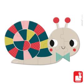 Janod Mini puzzel Slak