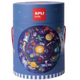 Apli Kids  Vloerpuzzel Zonnestelsel 48 st