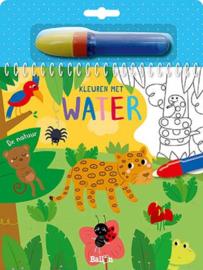 Uitgeverij Ballon Kleuren met water De  Natuur