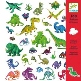 Djeco 160 stickers Dinosaurus