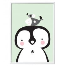 A little lovely company Poster pinguin & co