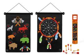 Scratch Magnetisch Dartspel Indianen