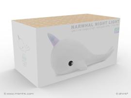 Dhink Oplaadbaar Nachtlampje  Narwal