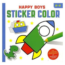 Deltas Happy Boys sticker color
