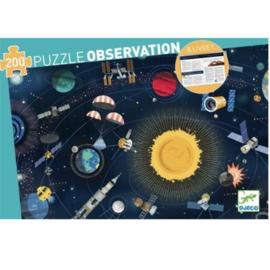 Djeco Observatie puzzel  Ruimte