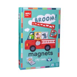 Apli Kids Magneetspel  Auto's
