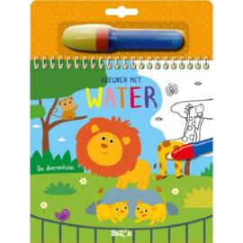 Uitgeverij Ballon Kleuren met water De Dierentuin