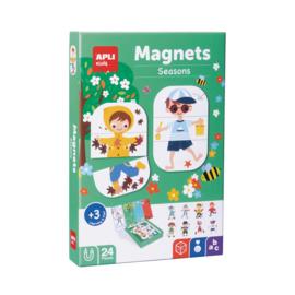 Apli Kids Magneetspel  Seizoenen