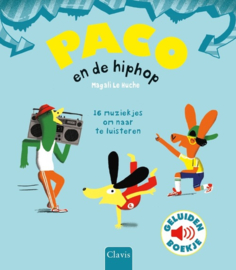 Clavis Geluidenboekje Paco en Hiphop