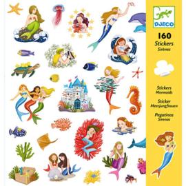 Djeco 160 stickers Zeemeermin