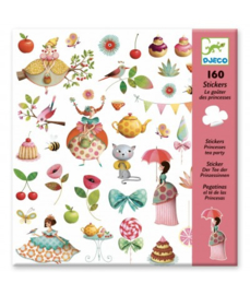 Djeco 160 stickers Prinses