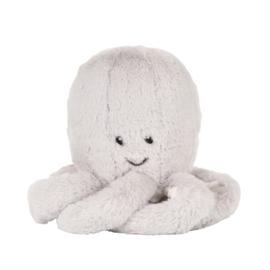 Flow Olly de Octopus (Grijs)  –  pluche Knuffel met hartslag