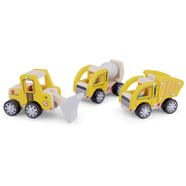 New Classic Toys Constructie Voertuigenset