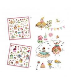 Djeco 160 stickers Prinses