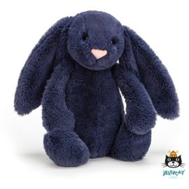 Jellycat Bashful Bunny  Navy