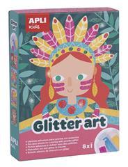 Apli  Glitter Art