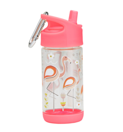 SugarBoogar Drinkfles Flip&Sip  Flamingo