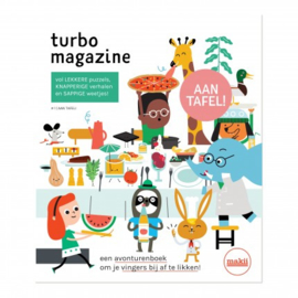 "Makii Turbo magazine ""Aan tafel"