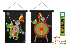 Scratch Magnetisch Dartspel Ridder