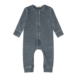 Your Wishes  KNITTED DENIM | SEAM ONESIE