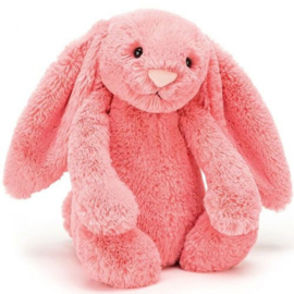 Jellycat Bashful Bunny Coral