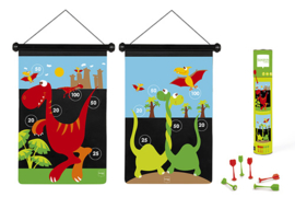 Scratch Magnetisch Dartspel Dinosaurus