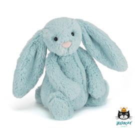 Jellycat Bashfull Bunny Aqua