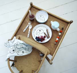 Done By Deer Placemat Elphee Blauw