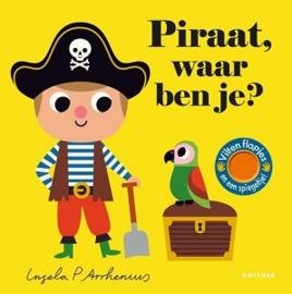 Uitgever Gottmer  Flapjesboekje  Piraat, waar ben je?