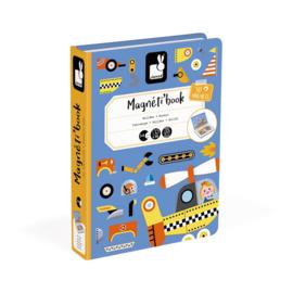 Janod Magneetboek Auto's