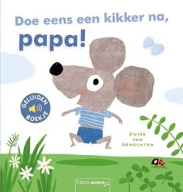 Clavis Geluidenboekje  Doe eens een kikker na, Papa!