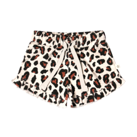 Your Wishes  LEOPARD | RUFFLE SHORTS