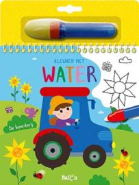 Uitgeverij Ballon Kleuren met water De Boerderij