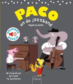 Clavis  Geluidenboekje Paco en de Jazzband