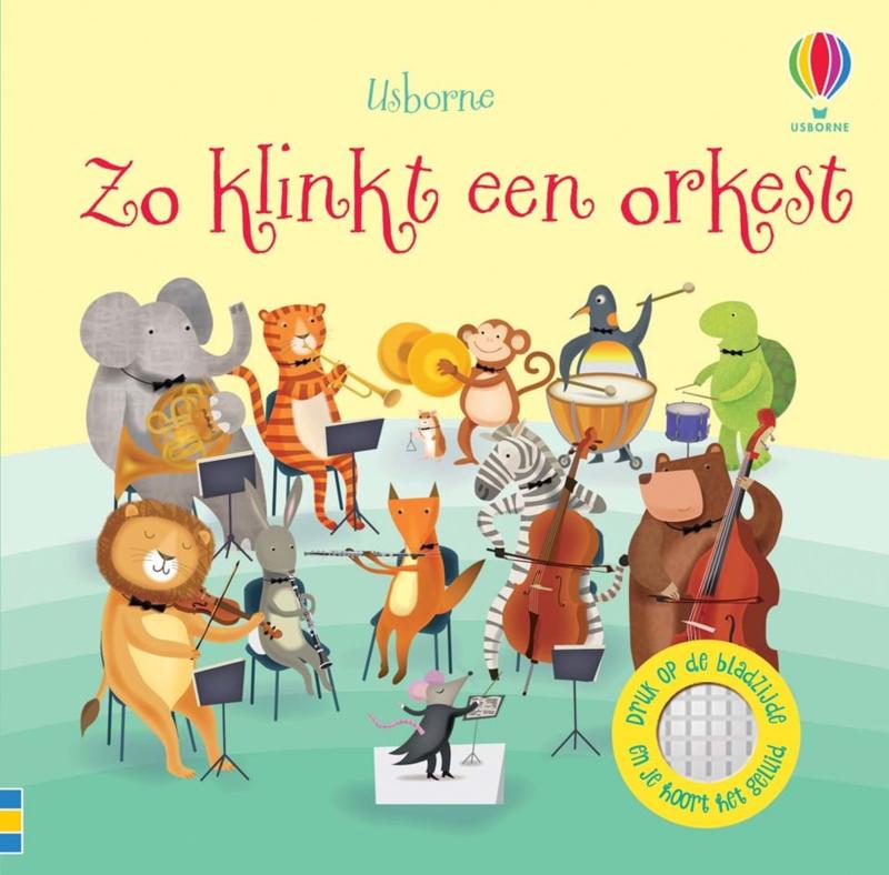 Usborne Geluidenboekje  Zo klinkt een orkest