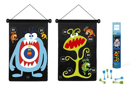 Scratch Magnetisch Dartspel Monsters