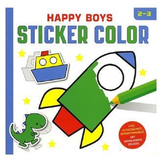 Deltas Happy Boys sticker color