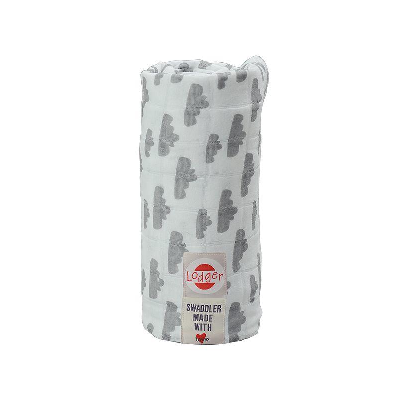 Lodger Hydrofiel doek Grey