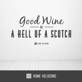 Wine and Scotch