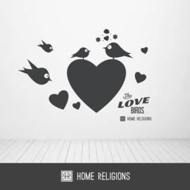 Heart Birds
