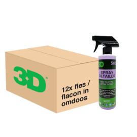 3D SPRAY DETAILER - 12x 16 oz / 473 ml Spray Fles in Grootverpakking