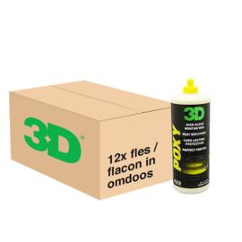 3D HD POXY Sealant Wax - 12x 32 oz / 940 ml Flacon in Grootverpakking