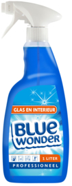 Blue Wonder Glas & Interieur Professioneel - 1000 ml spray fles