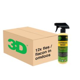 3D Express Wax - 12x 16 oz / 473 ml Spray Fles in Grootverpakking