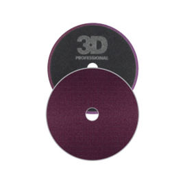 3D Spider-Cut Dark Purple Foam Cutting pad 6.5""