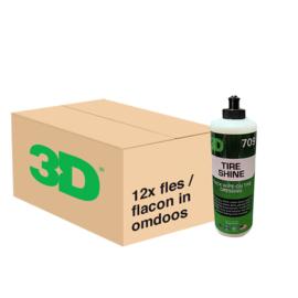 3D TIRE SHINE - 12x 16 oz / 473 ml Flacon in Grootverpakking