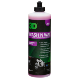 3D WASH n WAX - 16 oz / 473 ml Flacon