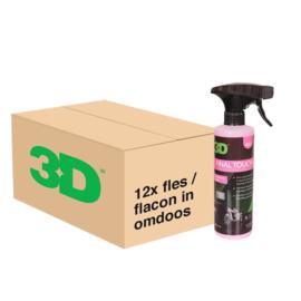 3D FINAL TOUCH - 12x 16 oz / 473 ml Spray Fles in Grootverpakking